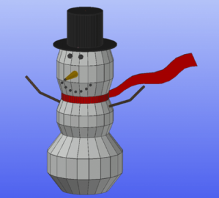 Creating a Snowman in Autodesk Advance Steel