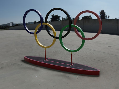 Adavnce Steel Olympic Rings