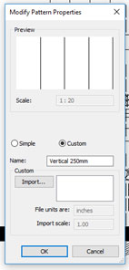AutoCAD Hatch Patterns in to Revit Modify Pattern Properties