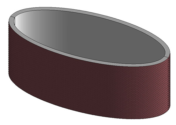 Creating Elliptical Walls in Revit Image