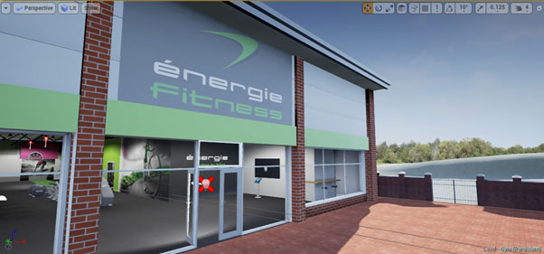 Energie Fitness VR Front of Building