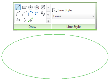 Revit Draw and Line Style