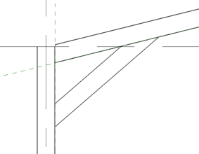 Revit select beam then reference plane image