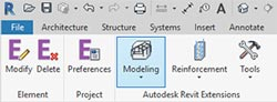 revit 2018 adding trusses extensions ribbon