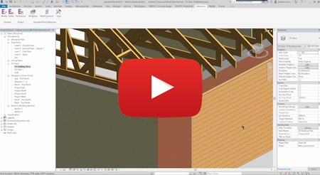 revit 2018 adding trusses extensions video tutorial