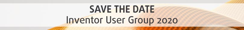 Save the Date Inventor User Group 2020 Banner