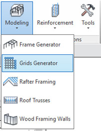 grid layout revit structure extentions grids generator