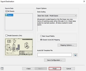 inventor dwg to autocad dwg 5