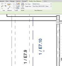 matchline revit target oppossing view