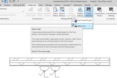 remove nesting hosted families revit select link