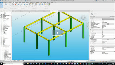 revit 2020 steel connections video