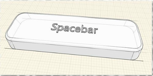 revit magic spacebar cover