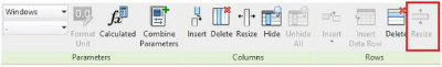 revit schedule column widths 5