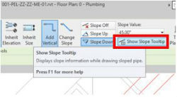 revit sloped piping 7